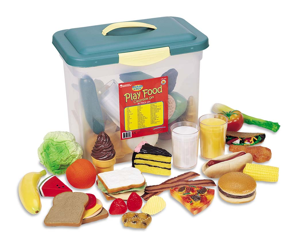 Shop By Category :: Role Play :: New Sprouts Class Food Set