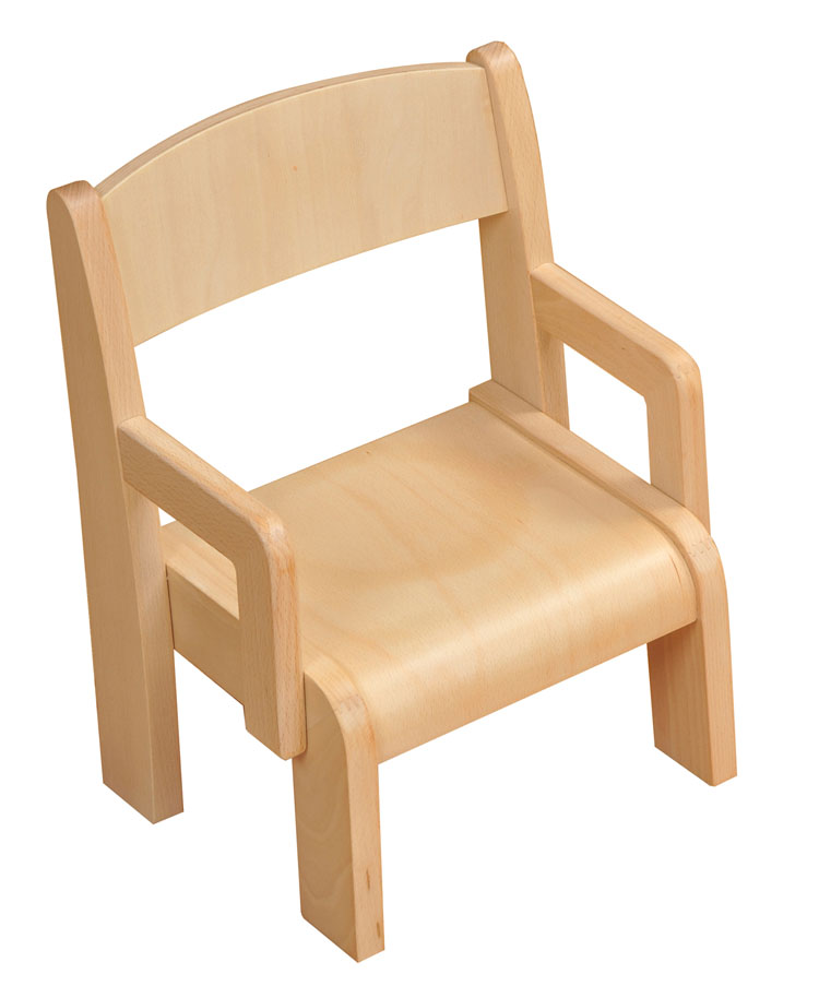 Toddleru0027s Wooden Armchairs   Pack Of 2