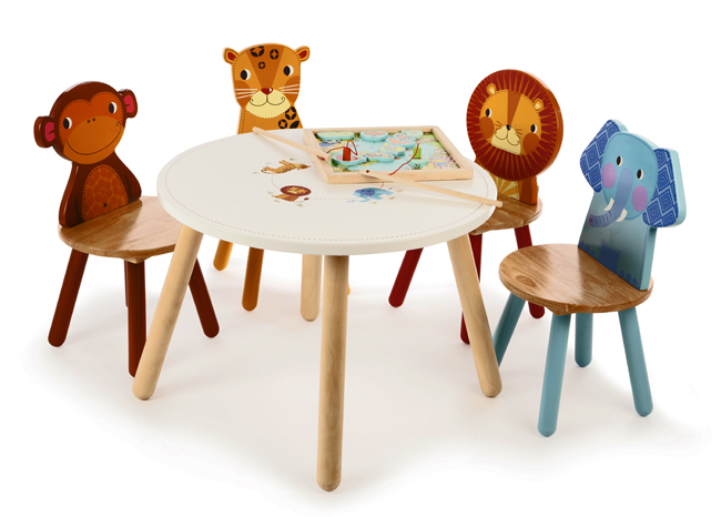 Charmant Jungle Animal Table U0026 Chairs