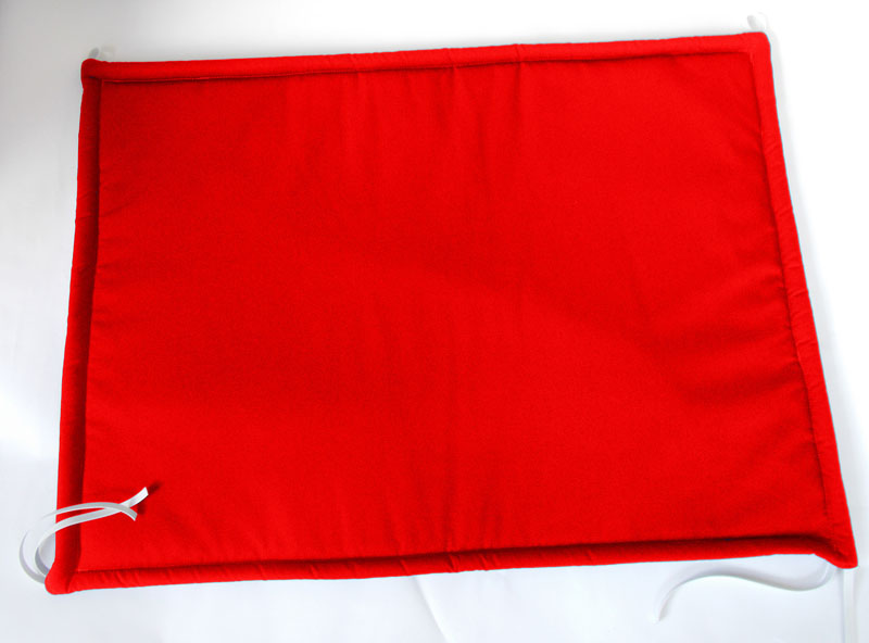 Baby Padded Radiator Covers Red Two